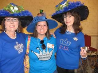 Ladies in Blue!