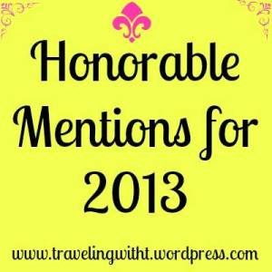 honorable mentions for 2013