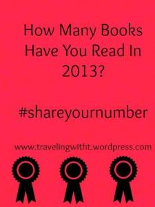 how many books have you read in 2013 fb