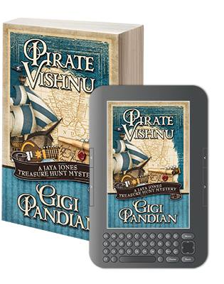 Pirate Vishnu by Gigi Pandian- Henery Press