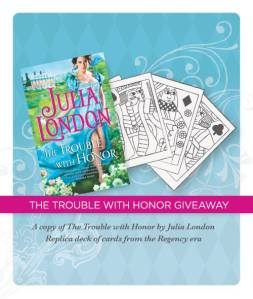 trouble with honor giveaway