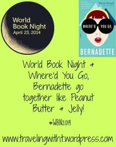 wbn and bernadette go together like pb and j