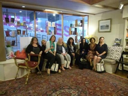 The women- the Belles on Wheels!