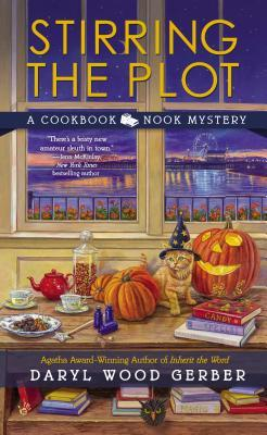 stirring the plot by daryl wood gerber #cozy #TravelingWithT #Halloween