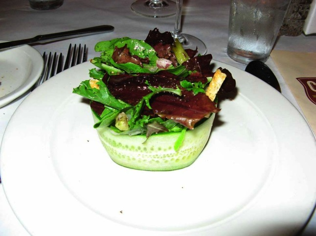 Salad at City Grocery 1