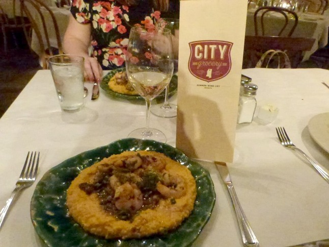 Shrimp and Grits at City Grocery1