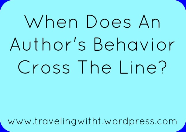 authors behavior