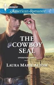 The Cowboy Seal #justcantgetenough #ruggedcowboys #harlequin