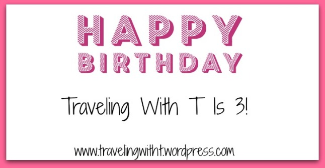 Happy 3rd bday traveling with t