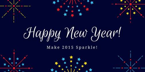 Happy New Year Make 2015 Sparkle