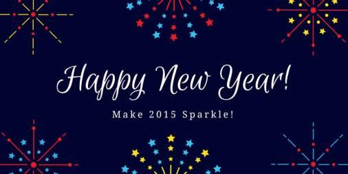 Happy New Year Make 2015 Sparkle