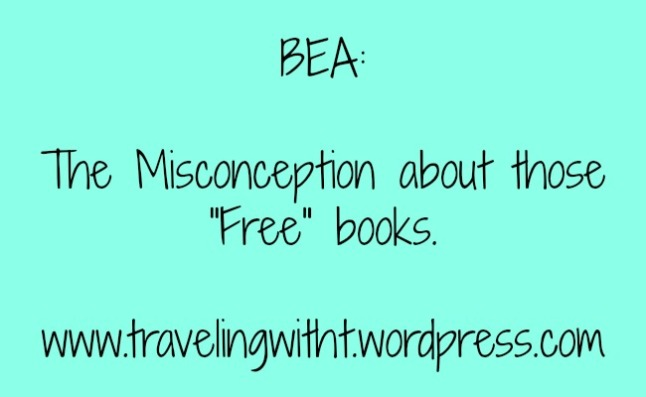 BEA and Misconception about those free books