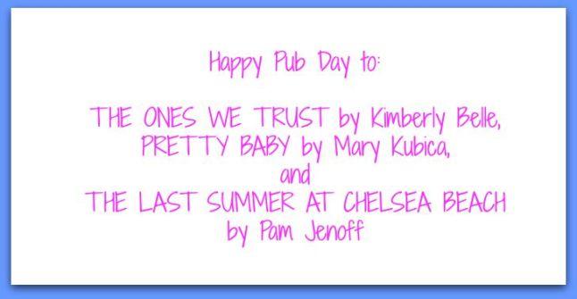 happy pub day to mary kim pam