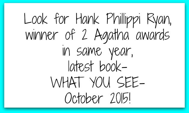 hank phillippi ryan 2 agatha