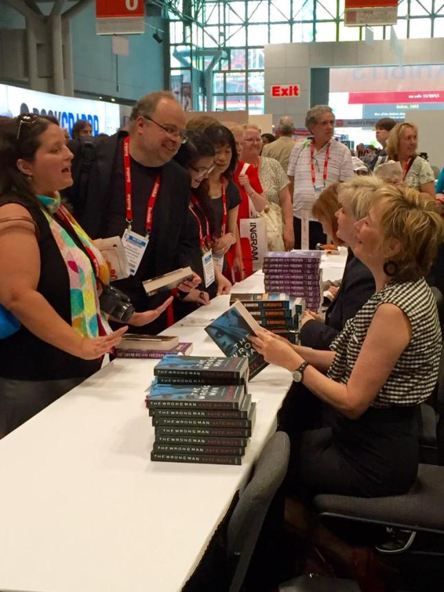 kate white signing my book
