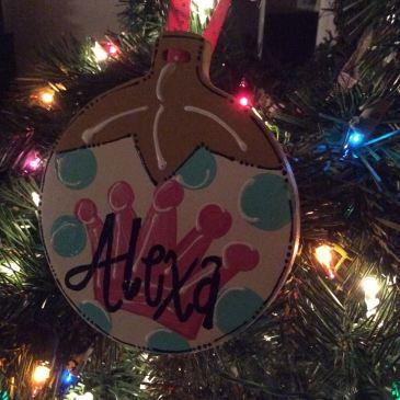 alexa's ornament