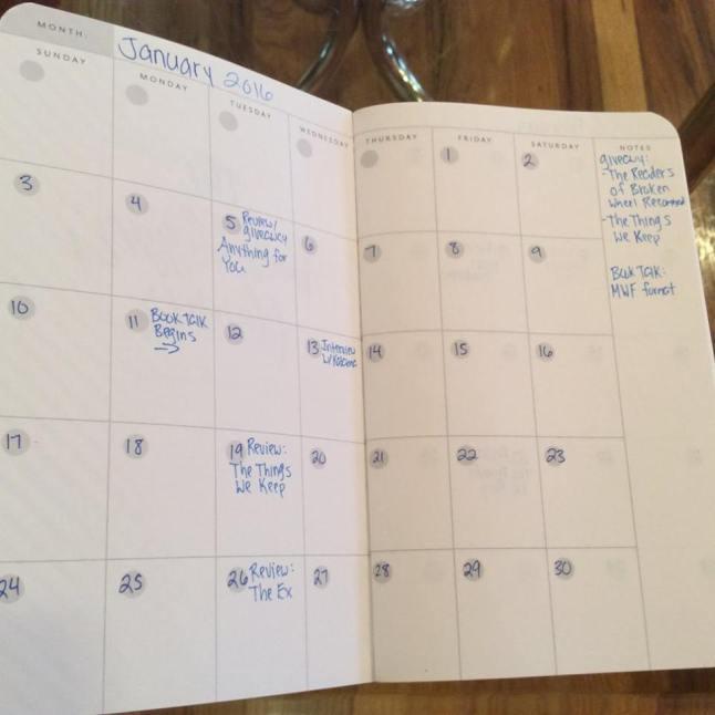 book blogger planner 1
