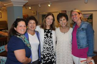 Mary Alice Monroe with Traveling With T, The Everett sisters and Beth @CoolBettie