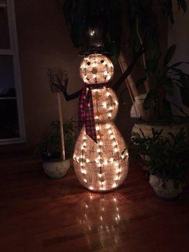 snowman-lit-up
