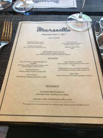 marseille menu