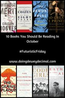 Pinterest 10 books you should be reading in October