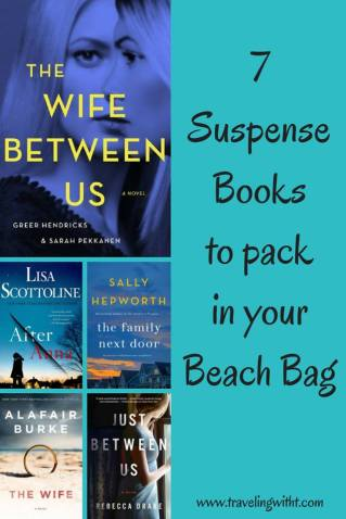 pinterest 7 suspense books for beach bag