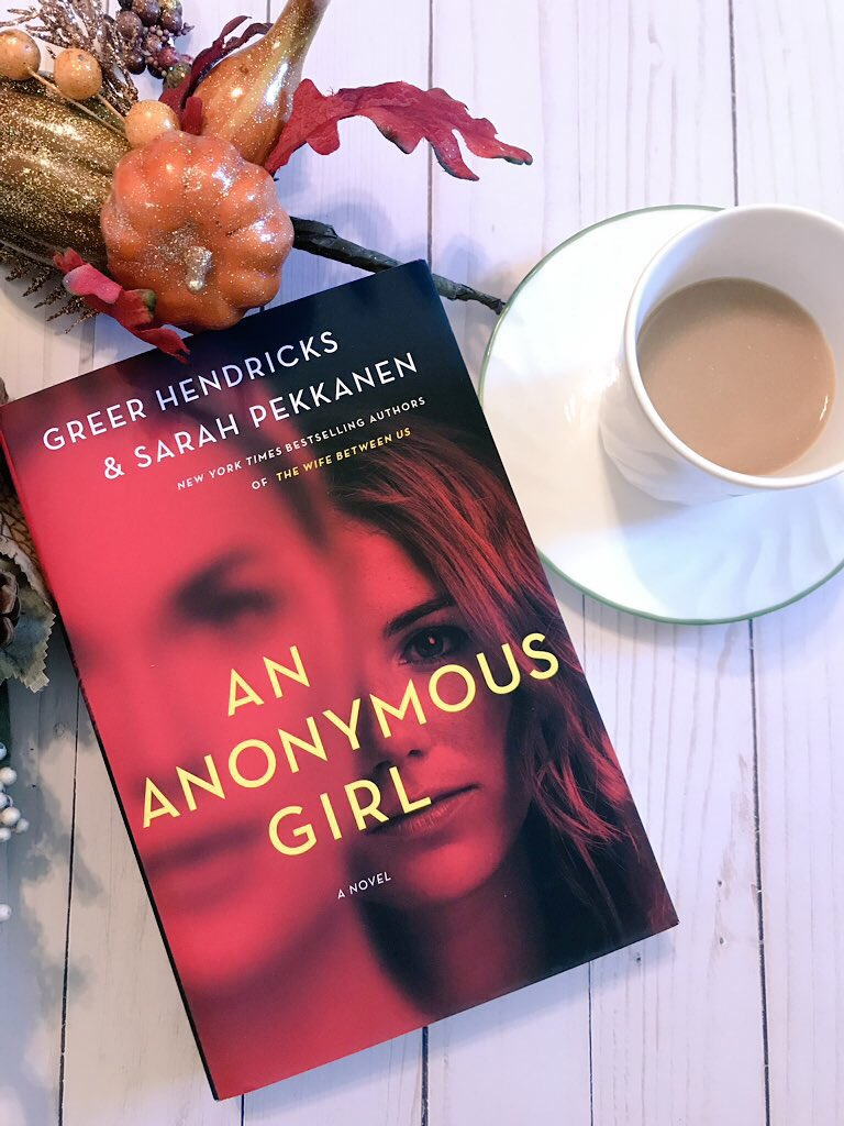 Futuristic Friday Book Review: An Anonymous Girl by Greer