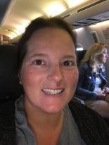 me on airplane